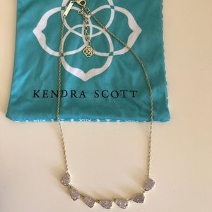 Kendra Scott Susana Necklace in Iridescent Drusy